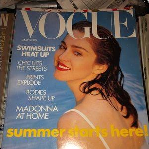 Vogue Wall Art - 3 RARE Madonna Magazine Covers